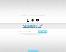 CardZuki beta launch